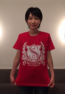 Tシャツ赤表